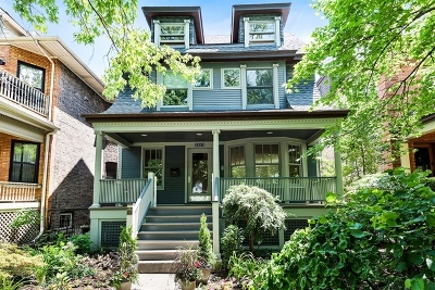 Cook County Single Family Home For Sale: 5313 North Lakewood Avenue