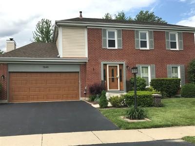Roselle Single Family Home Price Change: 1280 Waterbury Lane