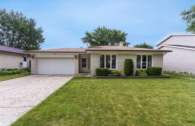 Mount Prospect Single Family Home Contingent: 1703 West Magnolia Lane