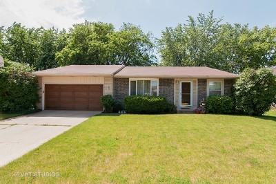 Roselle Single Family Home Price Change: 1050 Borden Drive