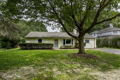 Crystal Lake Single Family Home New: 379 Huntley Road