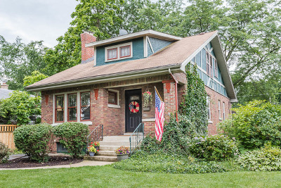 Lombard Single Family Home Contingent: 142 South Stewart Avenue