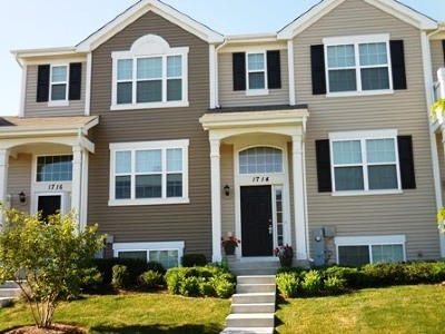Pingree Grove Condo/Townhouse For Sale: 1714 Windward Drive