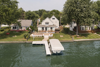 Johnsburg Single Family Home For Sale: 1319 West Sunnyside Beach Drive