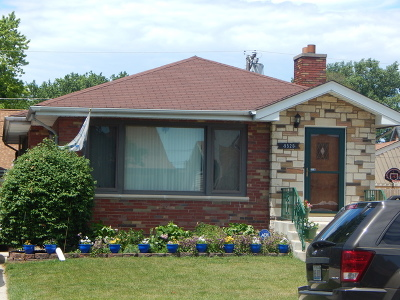 Evergreen Park Single Family Home Contingent: 9528 South Sawyer Avenue