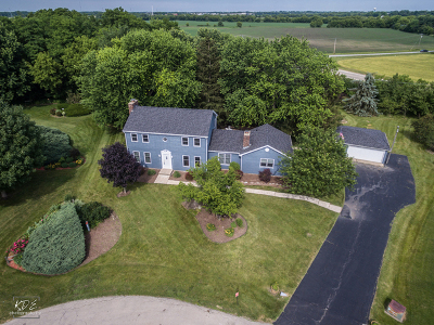 Hampshire Single Family Home Contingent: 40w310 Guthrie Court