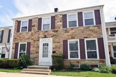 Hoffman Estates Condo/Townhouse Contingent: 2209 Stratham Place