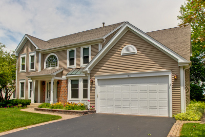 Cary Single Family Home Contingent: 64 Adare Drive