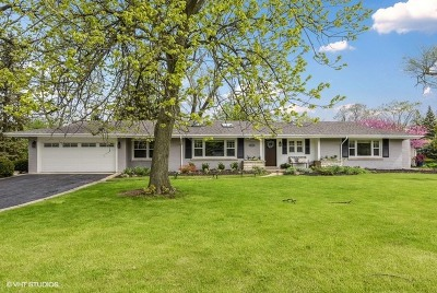 Oak Brook Single Family Home For Sale: 10 Woodside Drive