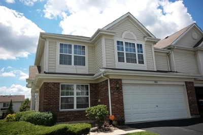Pingree Grove Condo/Townhouse Price Change: 581 Yorkshire Lane