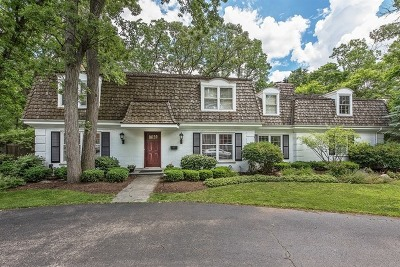 Winnetka Single Family Home For Sale: 1359 Tower Road