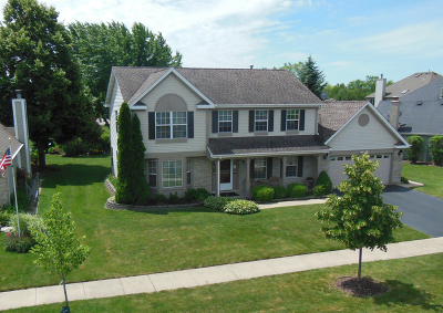 Carol Stream Single Family Home Contingent: 974 Woodhill Drive