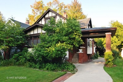 River Forest Single Family Home For Sale: 512 Thatcher Avenue