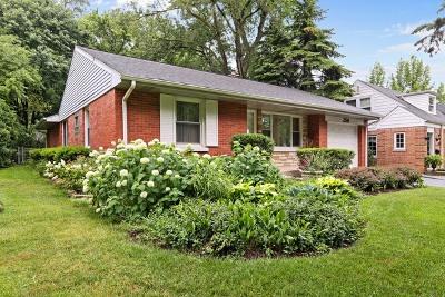 Clarendon Hills Single Family Home Contingent: 256 South Prospect Avenue