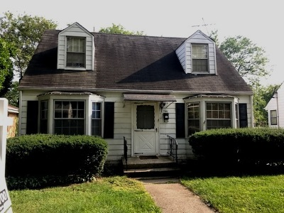 Elmhurst Single Family Home Price Change: 166 East Hale Street