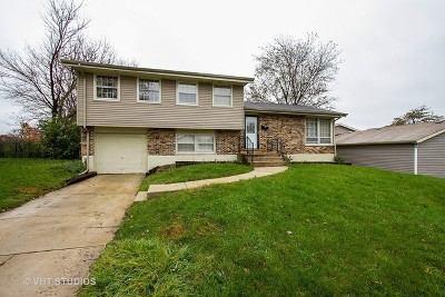 Hazel Crest Single Family Home Re-Activated: 3202 Birchwood Drive