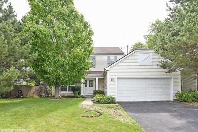 Carpentersville Single Family Home For Sale: 1612 Gleneagle Drive