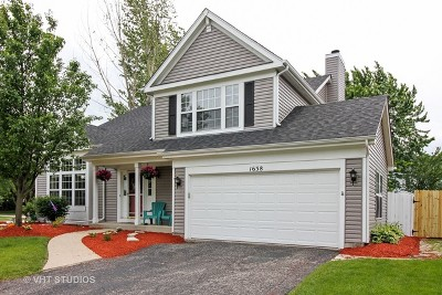 Crystal Lake Single Family Home Price Change: 1638 Durham Court