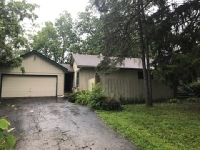 Clarendon Hills Single Family Home Contingent: 5806 Clarendon Hills Road
