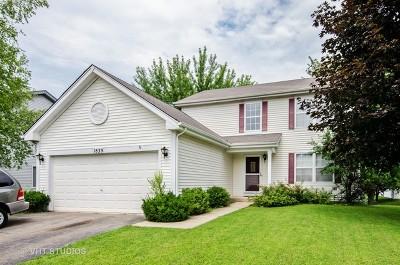 Carpentersville Single Family Home For Sale: 1839 Cambridge Drive