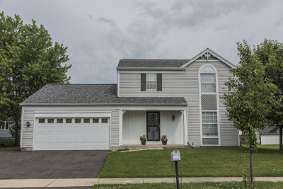 Carol Stream Single Family Home Contingent: 1327 Narragansett Drive