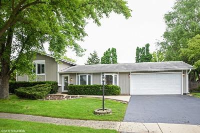 Hanover Park Single Family Home For Sale: 1640 Monroe Lane