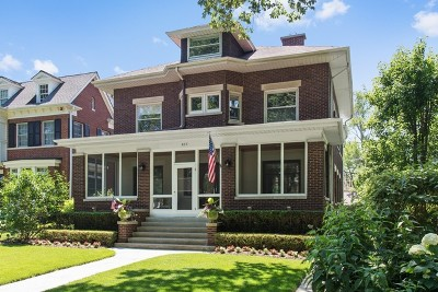 Wilmette Single Family Home For Sale: 815 Forest Avenue