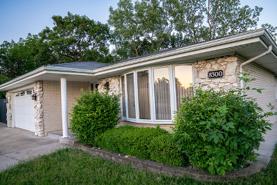 Palos Hills Single Family Home For Sale: 8300 West 99th Place