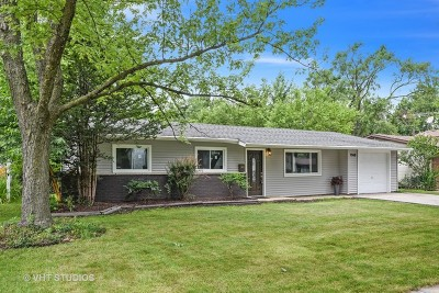 Hanover Park Single Family Home For Sale: 7068 Meadowbrook Lane