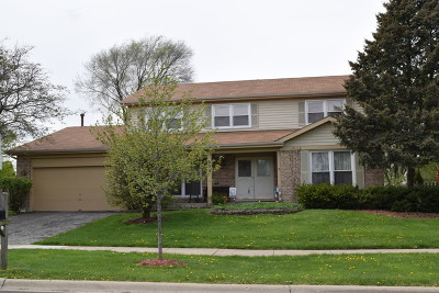 Carol Stream Single Family Home Contingent: 593 Stuart Drive