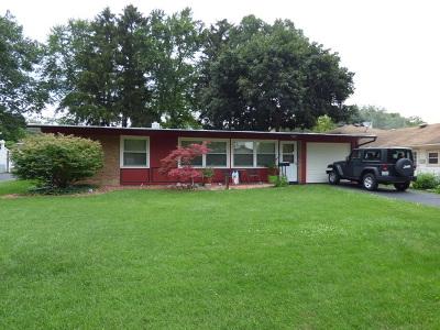 Barrington Single Family Home For Sale: 446 East Berry Road