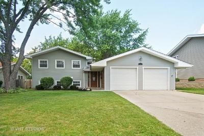 Hoffman Estates Single Family Home Contingent: 1410 Edgefield Lane