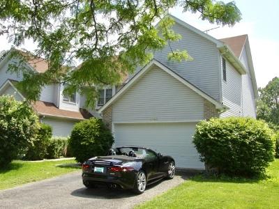 Hanover Park Condo/Townhouse For Sale: 2163 Laurel Avenue