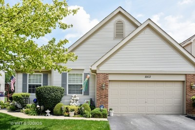Fox Lake Condo/Townhouse Contingent: 1163 North Oakwood Drive #1163