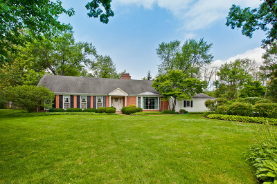 Lake Forest Single Family Home Contingent: 574 Fletcher Circle