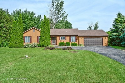Elburn Single Family Home Contingent: 44w750 Concord Court