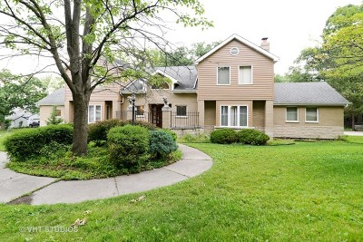 Palos Heights, Palos Hills Single Family Home For Sale: 8960 West 100th Street