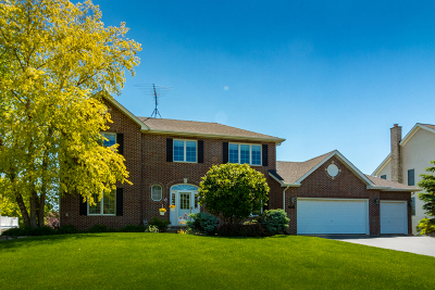 Hoffman Estates Single Family Home Contingent: 1275 Hunters Ridge West