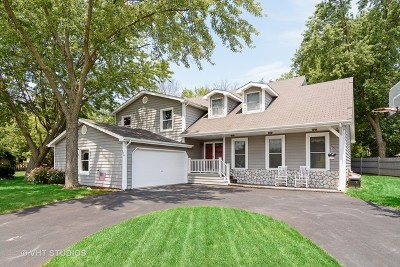 Lake Zurich Single Family Home Contingent: 116 Lorraine Drive