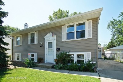 Glendale Heights Single Family Home Contingent: 453 East Montana Avenue