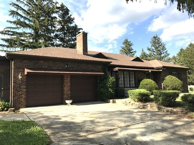 Downers Grove Single Family Home For Sale: 2508 College Road