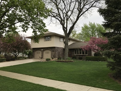 Schaumburg Single Family Home For Sale: 209 Mendon Lane