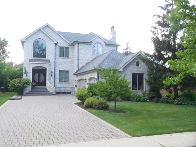 Wilmette Single Family Home For Sale: 411 Beverly Drive
