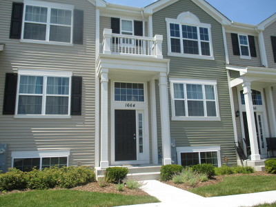 Pingree Grove Condo/Townhouse Contingent: 1664 Ruby Drive