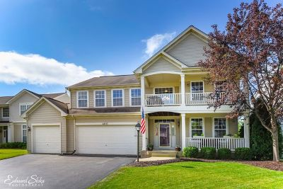 Carpentersville Single Family Home For Sale: 4802 Cedarledge Court