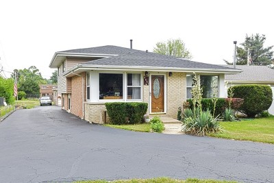 Palos Hills Single Family Home Contingent: 9851 South 81st Avenue