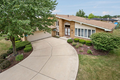 Orland Park Single Family Home Contingent: 8934 Fernwood Court