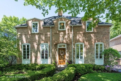Wilmette Single Family Home For Sale: 2240 Greenwood Avenue