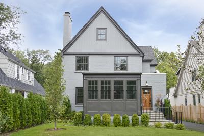 Winnetka Single Family Home For Sale: 1503 Edgewood Lane