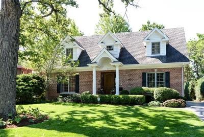 Lake Forest Single Family Home Price Change: 745 Green Briar Lane